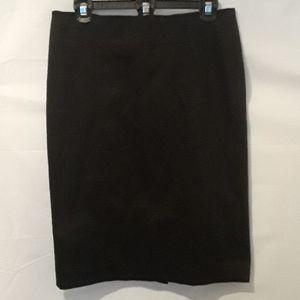 Ann Taylor Loft Black Skirt